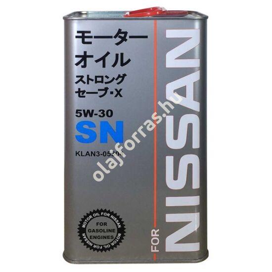 SCT Nissan 5W-30 4L (Fanfaro fém doboz)