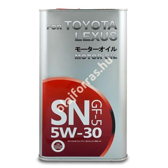 SCT Toyota -Lexus 5W-30 4L (Fanfaro fém doboz)