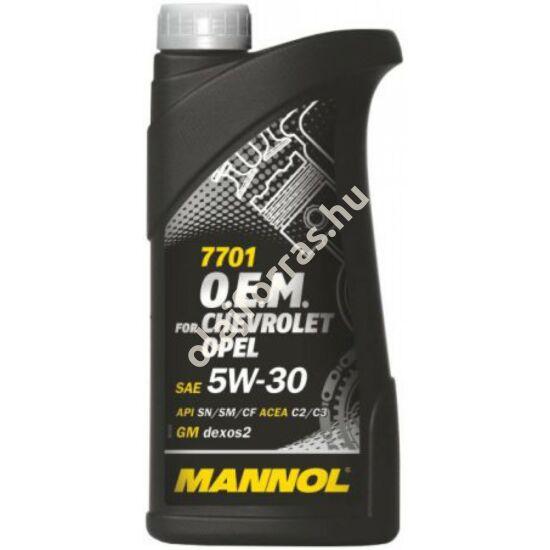 Mannol 7701 O.E.M. for Chevrolet Opel 5W-30 1L (7701)