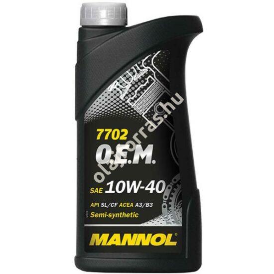 Mannol 7702 O.E.M. for Chevrolet Opel 10W40 1L