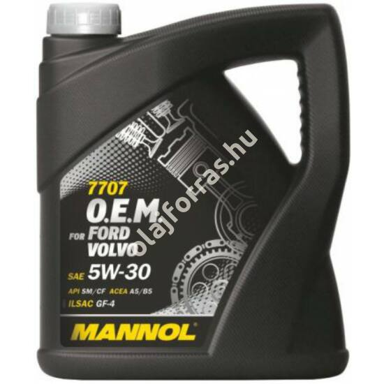 Mannol 7707 O.E.M. for Ford Volvo 5W-30 5L