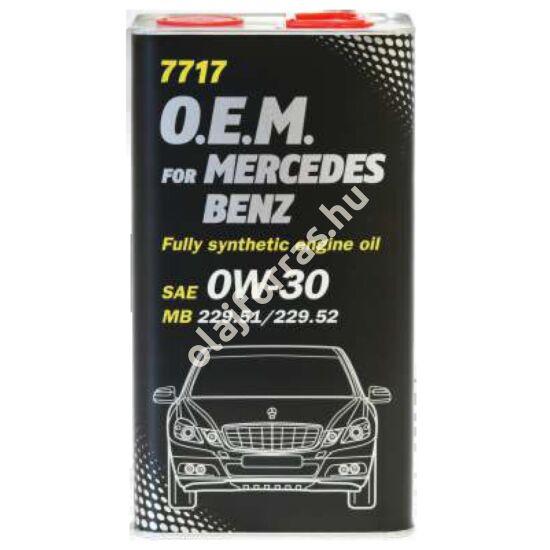 Mannol 7717 O.E.M. for Mercedes 0W-30 4L
