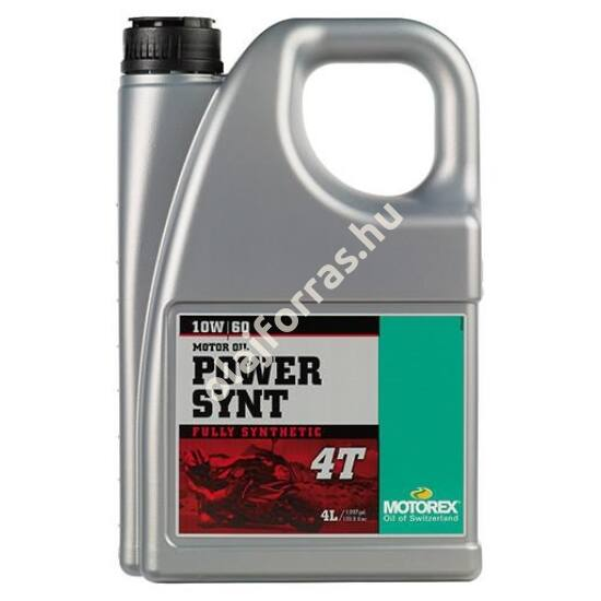 MOTOREX Power Synt 4T 10W-60 4L