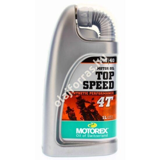 MOTOREX Top Speed 4T 10W-40 1L