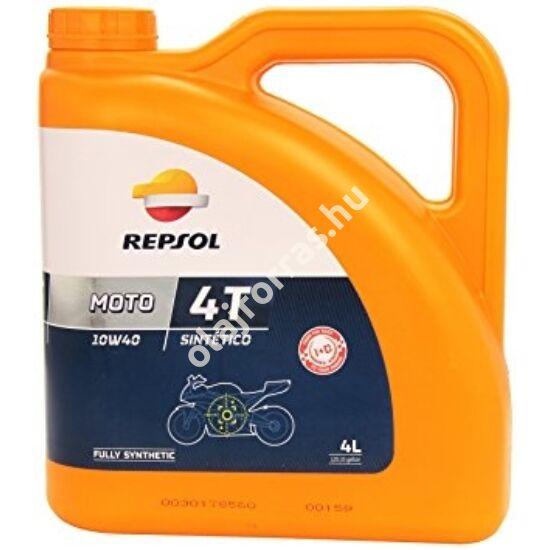 Repsol Moto Sintetico 4T 10W-40 4L