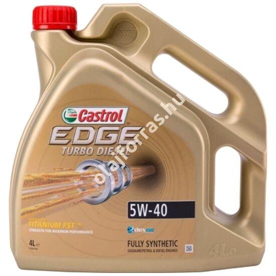 Castrol Edge Titanium Diesel 5W-40 4L