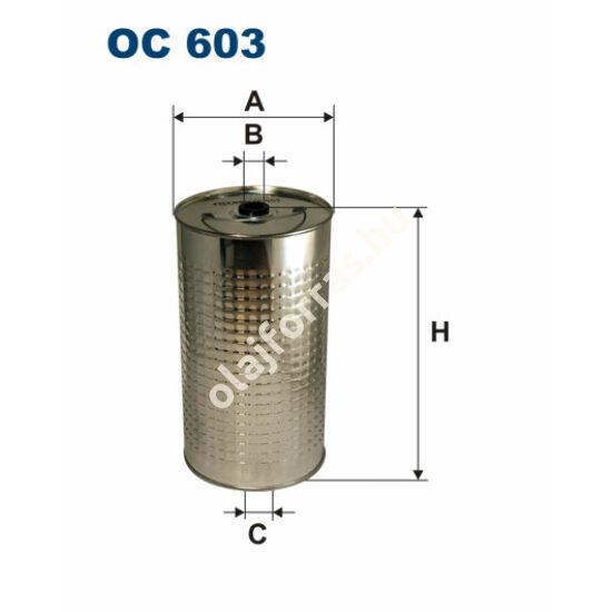 OC603 Filron olajszűrő