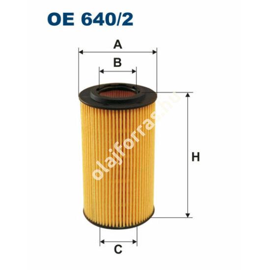 OE640/2 Filron olajszűrő