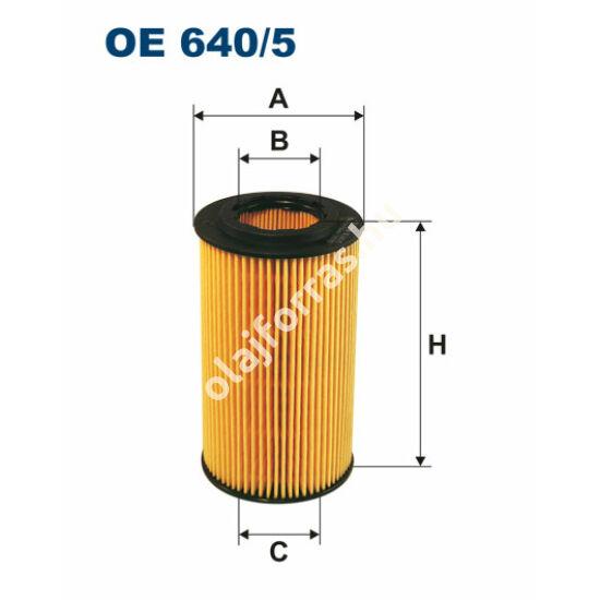 OE640/5 Filron olajszűrő