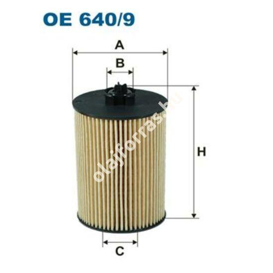 OE640/9 Filron olajszűrő