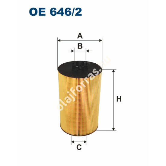 OE646/2 Filron olajszűrő