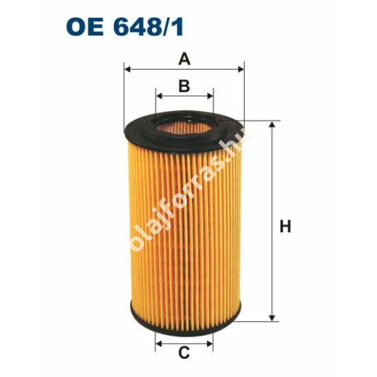 OE648/1 Filron olajszűrő