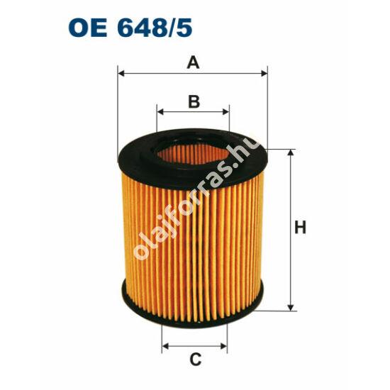OE648/5 Filron olajszűrő