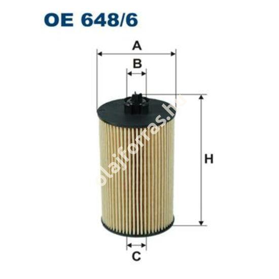 OE648/6 Filron olajszűrő