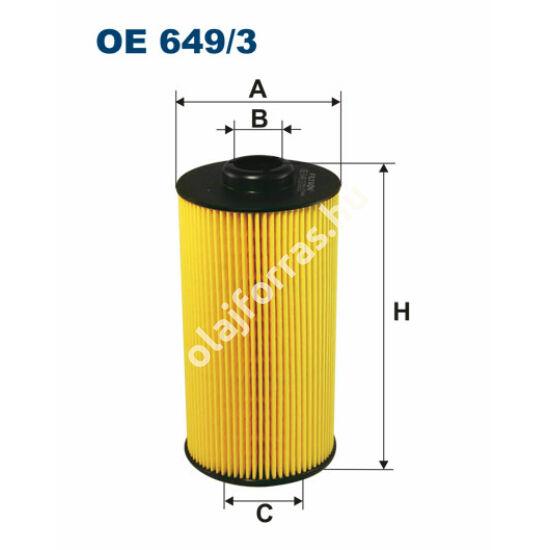 OE649/3 Filron olajszűrő