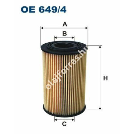 OE649/4 Filron olajszűrő