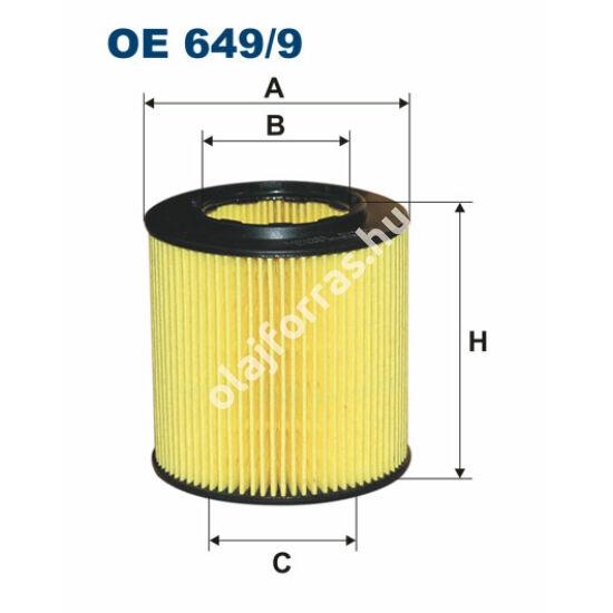 OE649/9 Filron olajszűrő
