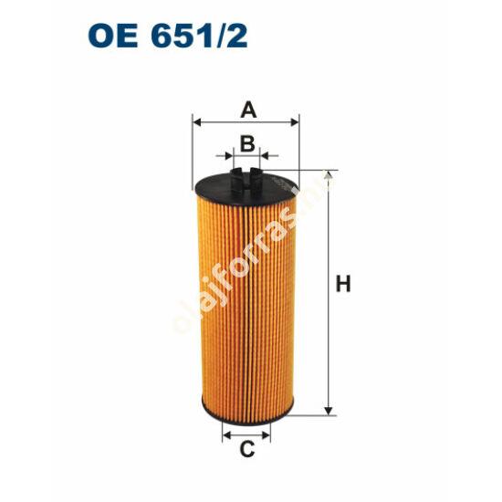 OE651/2 Filron olajszűrő