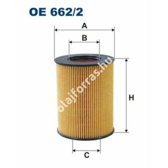 OE662/2 Filron olajszűrő