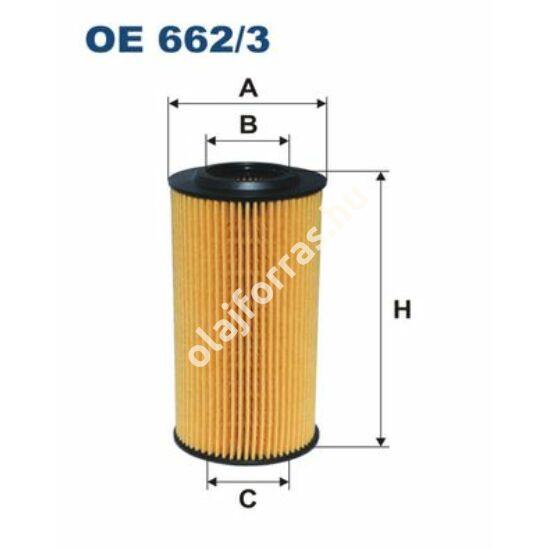 OE662/3 Filron olajszűrő
