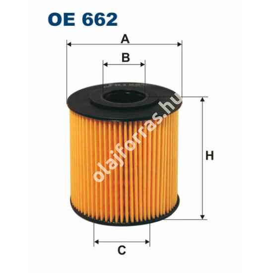 OE662 Filron olajszűrő