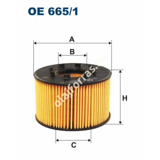 OE665/1 Filron olajszűrő