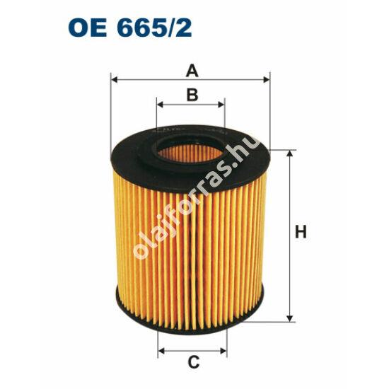 OE665/2 Filron olajszűrő