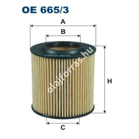 OE665/3 Filron olajszűrő