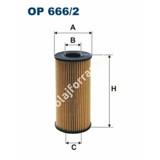 OE666/2 Filtron olajszűrő