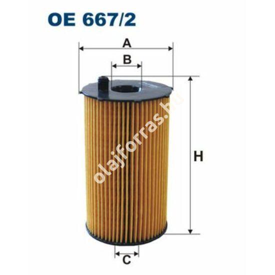 OE667/2 Filron olajszűrő