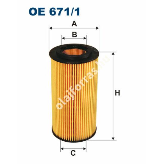 OE671/1 Filron olajszűrő