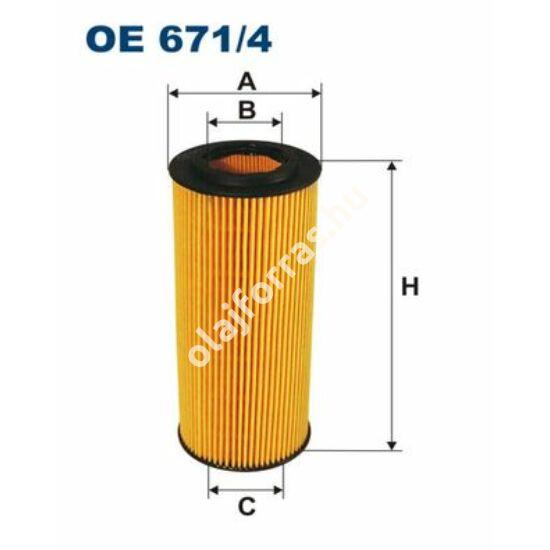 OE671/4 Filron olajszűrő