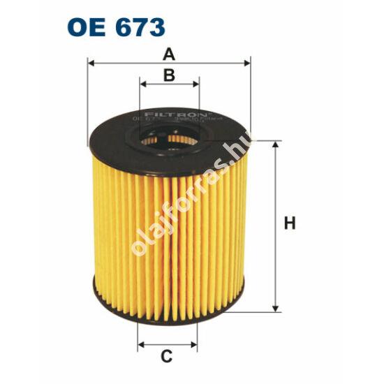 OE673 Filron olajszűrő