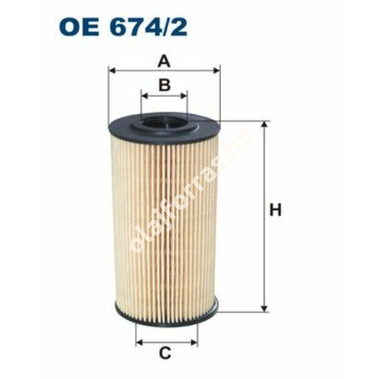 OE674/2 Filron olajszűrő