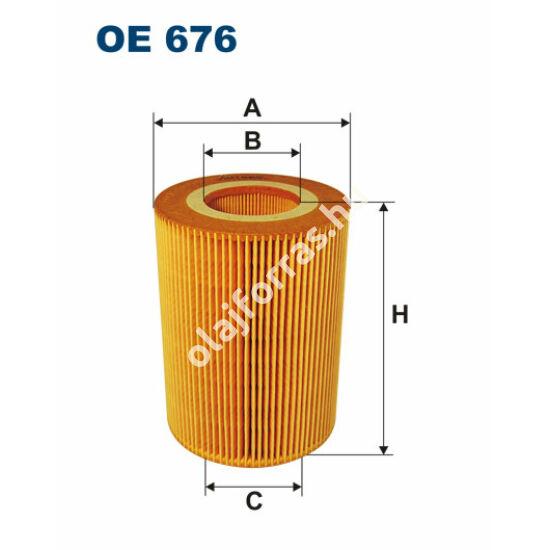 OE676 Filron olajszűrő