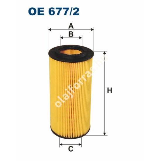 OE677/2 Filron olajszűrő