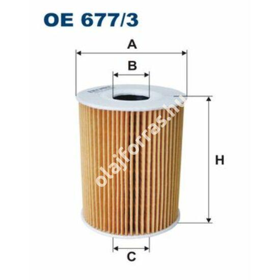 OE677/3 Filron olajszűrő