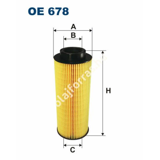 OE678 Filron olajszűrő