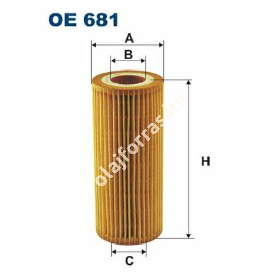 OE681 Filron olajszűrő