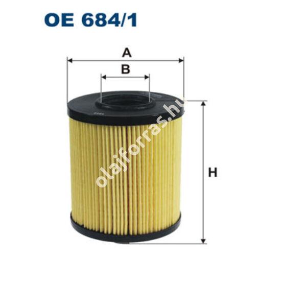 OE684/1 Filron olajszűrő