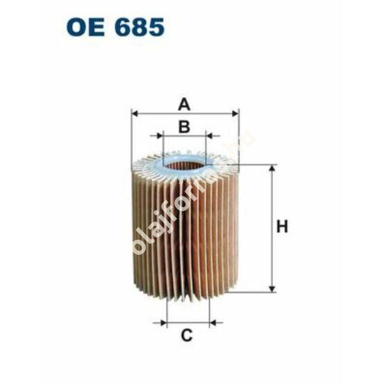 OE685 Filron olajszűrő