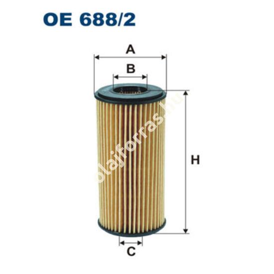 OE688/2 Filron olajszűrő