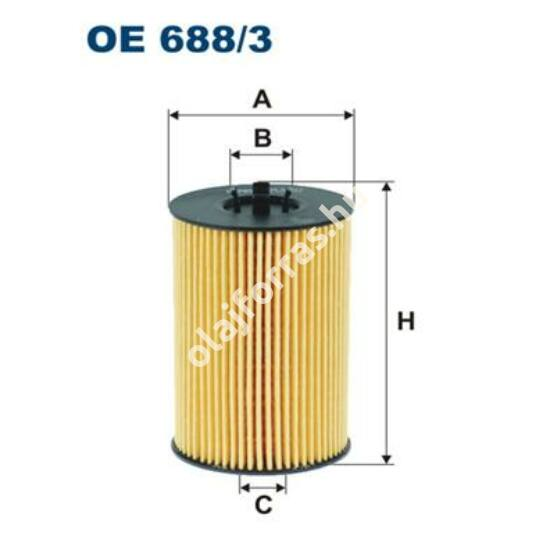 OE688/3 Filron olajszűrő