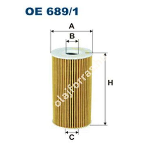 OE689/1 Filron olajszűrő
