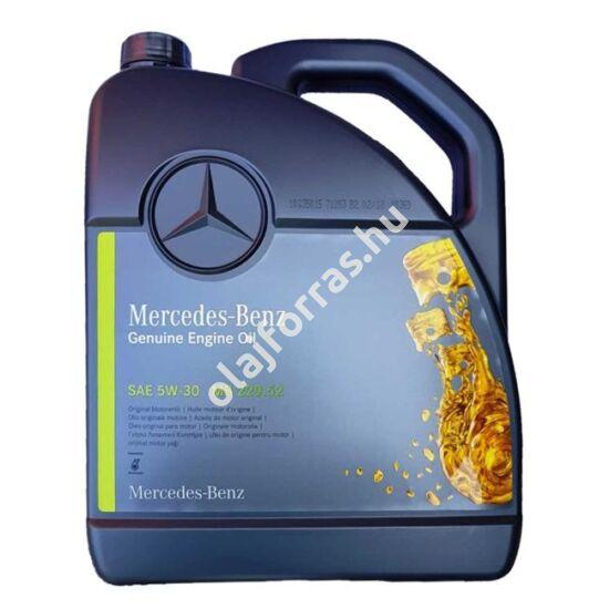Mercedes motorolaj MB 229.52 5W-30 5L