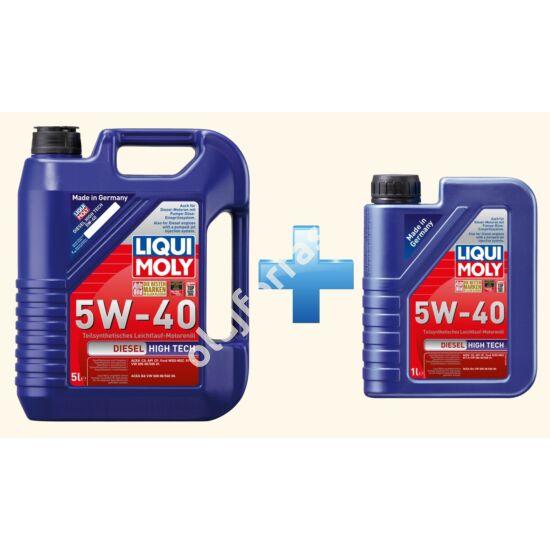 Liqui Moly Diesel High Tech 5W-40 6L (5+1L)