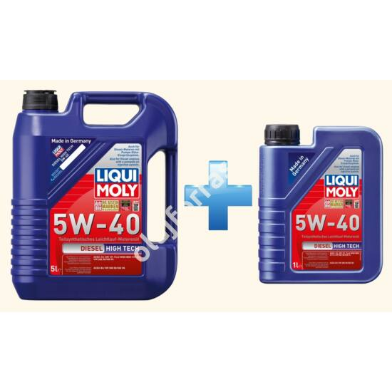Liqui Moly Diesel High Tech 5W-40 6L (5+1L)