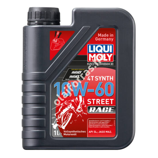 Liqui Moly Street Race Synth 4T 10W-60 1L