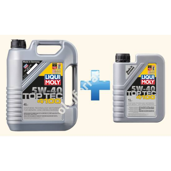 Liqui Moly Top Tec 4100 5W-40  5L (4+1L)