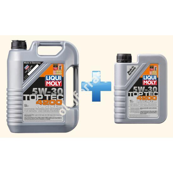 Liqui Moly Top Tec 4200 5W-30 6L (5+1L)